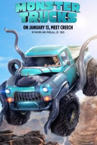 Monstrų ratai / Monster Trucks (2016)