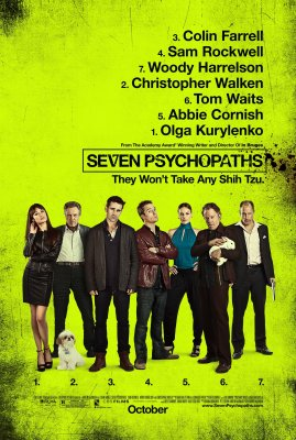 Septyni psichopatai / Seven Psychopaths (2012)