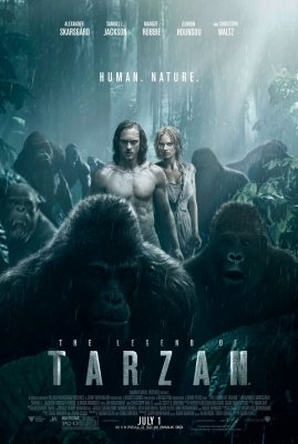 TARZANAS: džiunglių legenda / The Legend of Tarzan (2016)