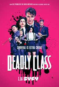 Deadly Class 1 sezonas online