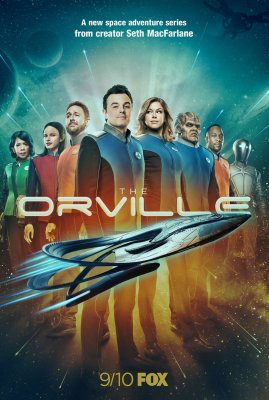 Orvilis (1 Sezonas) / The Orville (Season 1) (2017)